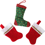 Miniature Stockings For Your Christmas Tree