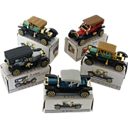 Miniature Toy Car Collectibles