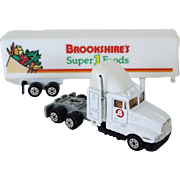 Miniature Toy Truck Brookshire's Grocery