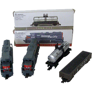 Miniature Toy Southern Pacific Train Collectibles