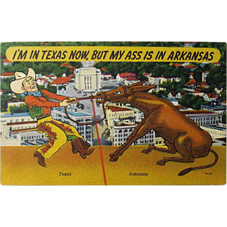 Postcard: I'm in Texas Now...
