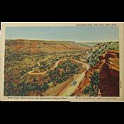 Postcard: Palo Duro State Park 1941
