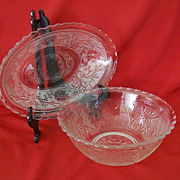Anchor Hocking Sandwich Glass Serving Dishes