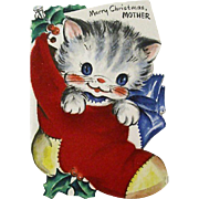 Hallmark Christmas Kitten Smiles For Mother