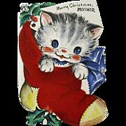 Hallmark Christmas Kitten Smiles For Mother
