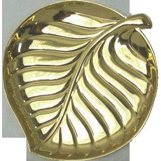 Brilliant Brass 1960s Durabrite Tray