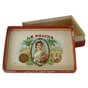 Small Cardboard Box La Palina Cigars