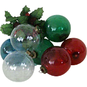 Vintage Ornaments Ready For Artist's Original Holiday Designs