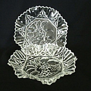 Matching Federal Glass Pioneer Serving Bowls