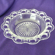 Hocking's Old Colony Or Open Lace Salad Bowl