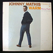 Johnny Mathis Record Album 1957 With Columbia 6 Eye Label