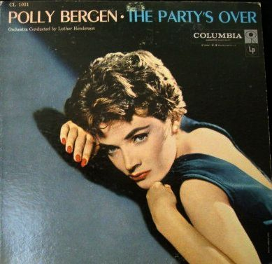 Polly Bergen 1957 Classic With Columbia 6 Eye Label