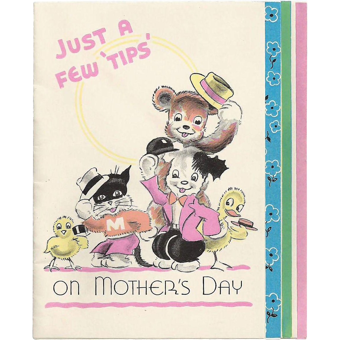 Just A Few Tips On Mother's Day - 1939