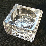 EAPG Crystal Individual Salt Dish