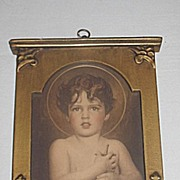 Vintage Print of Young St. John the Baptist  Artist  Charles Bosseron Chambers Circa 1920's