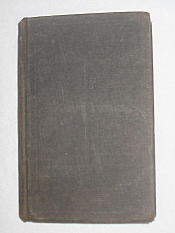 'The Book of Common Prayer' Antique Religious Prayer Book c.1892 / Trinity Church Rensselaerville, N.Y.