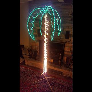 Vintage Palm Tree Floor Lamp Rare