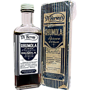 Dr. Hervay's Rhumola Unopened Bottle Original Box