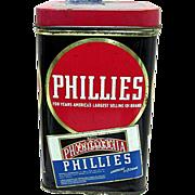 Phillies Advertising Cigar Tin