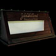 John Holland Fountain Pen Advertising Display Case