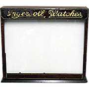 Advertising Ingersoll Watch Display Case
