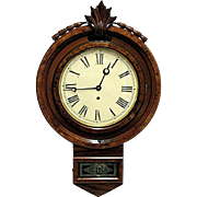 William l. Gilbert American Wall Clock