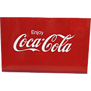 Coca Cola Meal Advertising Sign