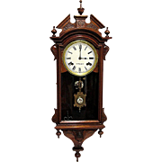 E. N. Welch Chiming Wall Clock