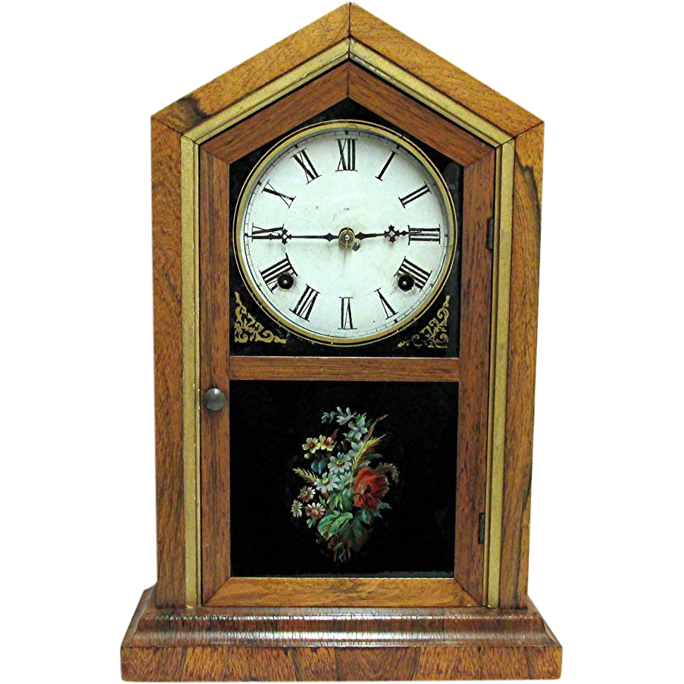 Waterbury Florence Model Mantel Clock Fully Restored