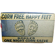 Drug Store or Pharmacy Food Remedy Happy Feet Advertising