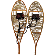 Antique Snowshoes Damage Free Pair