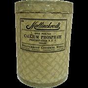 Mallinckrodt Calcium Phosphate 1 Pound Pharmacy Container