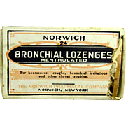 Norwich Lozenges Drugstore or Pharmacy Item