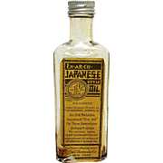 National Remedy Co. of New York Japanese Oil Bottle