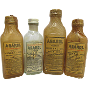 Agarol  Unopened Bottle Original Contents and Wax Paper Wrap