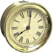 Brass Seth Thomas Ships Clock