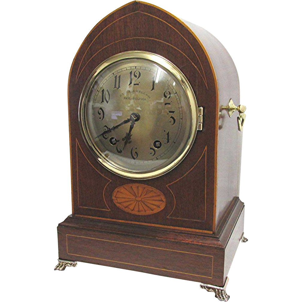 Quarter Hour Chiming Mantle Clock By Winterhalder And Hofmeier