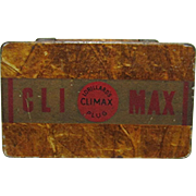 Climax Plus Tobacco Tin