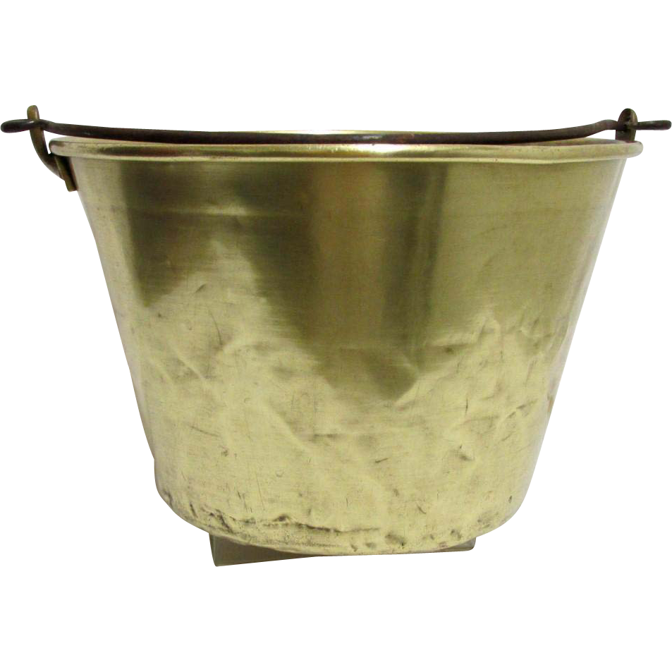 American Brass Kettle Co. No.5 Cooking Pot