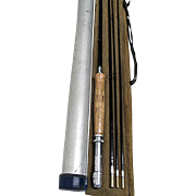 Bamboo Fly Rod Unused 8 Ft. 3/2 with Tube