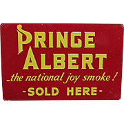 Prince Albert Tobacco Advertising Sign