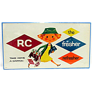 Advertising Sign For Royal Crown Cola