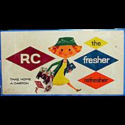 Royal Crown Cola Advertising Sign