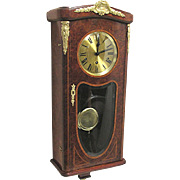 French Dual Chime Antique Wall Clock