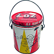 OZ Peanut Butter Advertising Tin