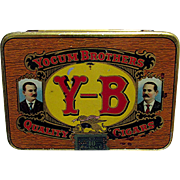 Yocum Brothers Pocket Cigar Advertising Tin