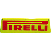 Pirelli Automotive Advertising Sign