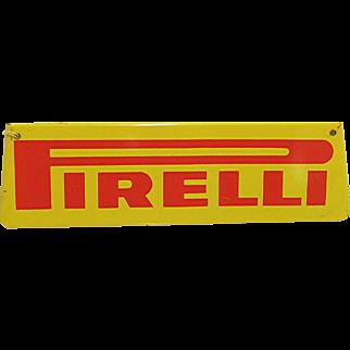 Automotive Advertising Metal Sign Pirelli