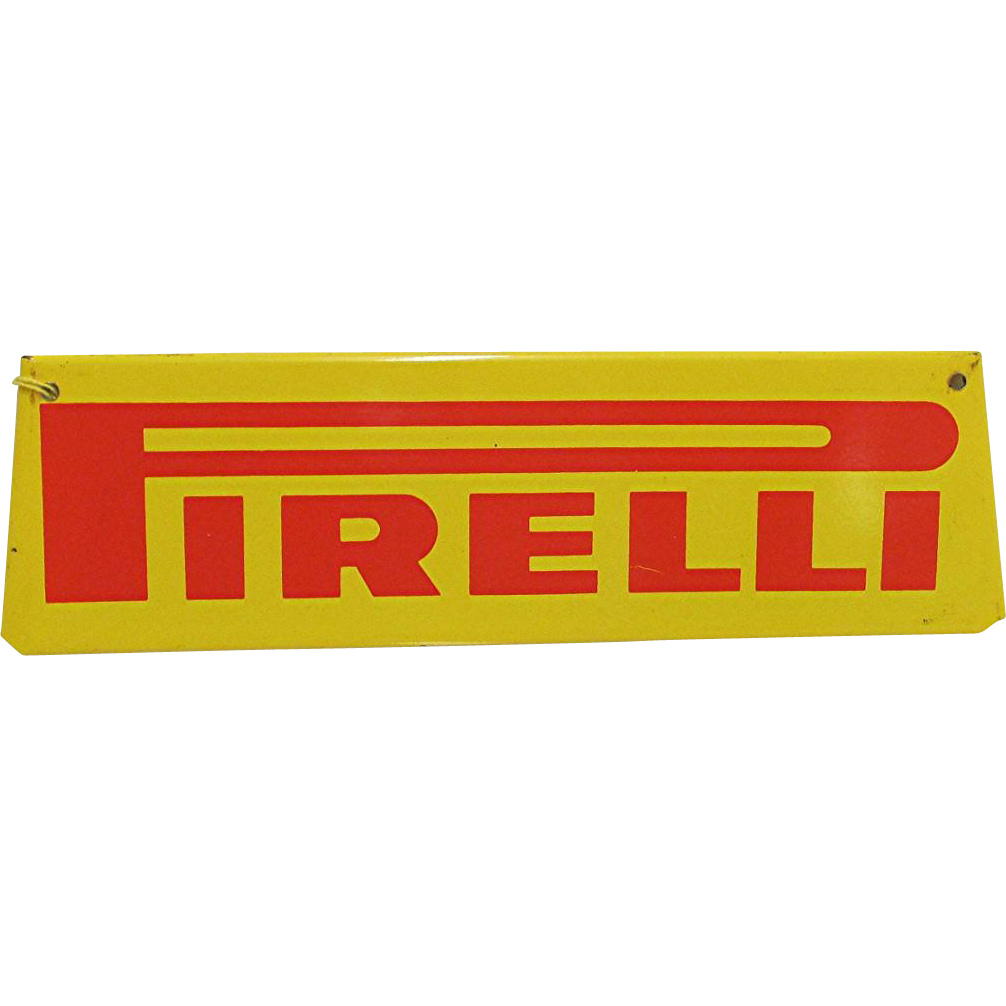 Metal Automotive Advertising Sign For Pirelli