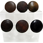 Antique Wood Knobs or Pulls